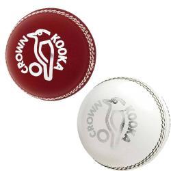 Kookaburra Crown 2Pc Cricket Ball 142gm [Colour: Red]