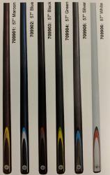 Formula 2 Pce Plain Coloured Composite Cue