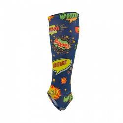 Mazon Pattern Inner Socks Comic [Size: Adult]