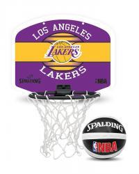 Spalding NBA Mini Backboard LA Lakers Set