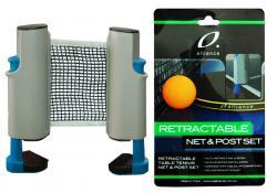 Alliance Table Tennis Retractable Net & Post Set