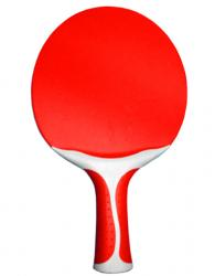 ALLIANCE OUTDOOR TABLE TENNIS BAT - RED