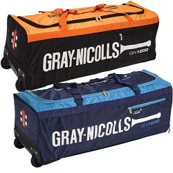 Gray Nicolls 1200 Wheel Blue Cricket Bag