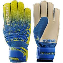 Reusch Fit Control Open Cuff Finger Support Junior Goalie Gloves