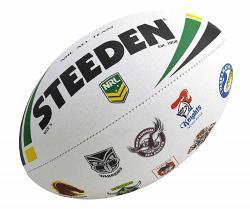 Steeden NRL All Team Logo Football