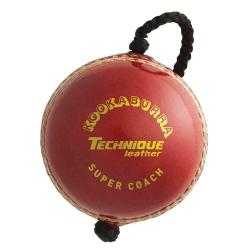 Kookaburra Super Coach Technique Leather Ball