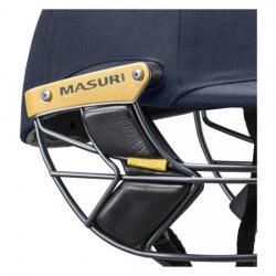 Masuri E Line Steel Grill Navy Cricket Helmet