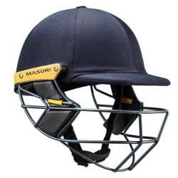 Masuri Test OS Steel Grill Navy Cricket Helmet