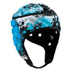 Steeden Super Lite Headgear Paintball Blue/Silver [Size: Large 60cm]