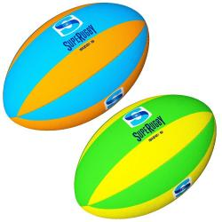 Gilbert Super Rugby Neon Supporter Ball
