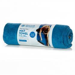 Gaiam Performance Stay Put Yoga Mat Towel