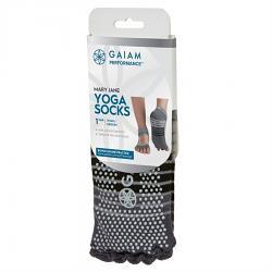 Gaiam Performance Mary Jane Yoga Socks