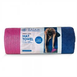 Gaiam Performance Grippy Yoga Mat Towel
