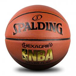 Spalding NBA Hexagrip Indoor/Outdoor Neverflat Basketball