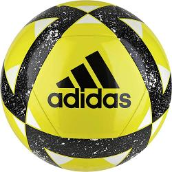 Adidas Starlancer V Soccer Ball [Colour: Yellow/Black] [Size: 4]