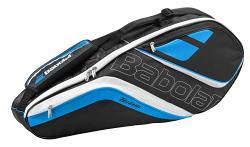 Babolat Team Line 3 Racquet Tennis Bag [Colour: Black/Pink]