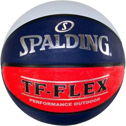 Spalding TF-Flex Outdoor Basketball [Colour: Red/White/Navy] [Size: 5]