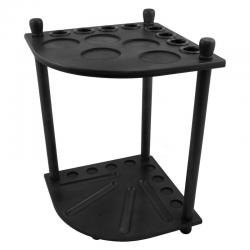 Formula Cue Stand Corner Unit Black