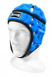 Madison Air Flo Neon Headgear Neon Blue