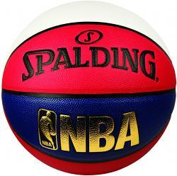 Spalding NBA Logoman Indoor/Outdoor Basketball [Size: 7]