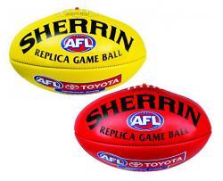 Sherrin Replica Game Ball Aussie Rules Football