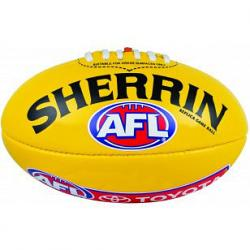 Sherrin PVC Replica Game Ball Aussie Rules Football