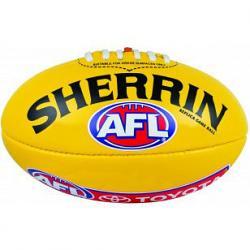 Sherrin PVC Replica Game Ball Aussie Rules Football