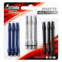 Formula Coloured Alloy Shafts Multipack