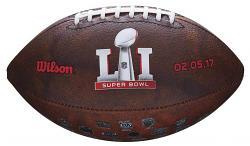 Wilson Superbowl 51 Commemorative NFL Football