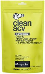 Body Science BSc Apple Cider Vinegar Capsules Organic