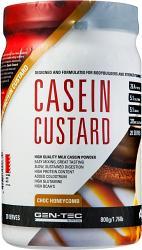 Gen-Tec Casein Protein Custard