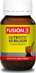 Fusion Health Gut Biotic 60 Billion