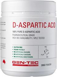 Gen-Tec D-Aspartic Acid
