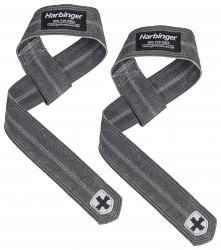 Harbinger Leather Lifting Straps