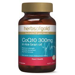 Herbs of Gold Natural CoQ10 300mg