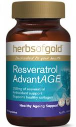 Herbs of Gold Resveratrol ADVANTAGE