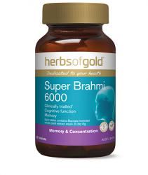 Herbs of Gold Super Brahmi 6000