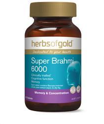 Herbs of Gold Super Brahmi 6000