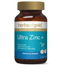Herbs of Gold Ultra Zinc+