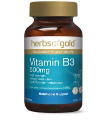 Herbs of Gold Vitamin B3 500mg