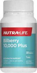 Nutra-Life Bilberry 10,000