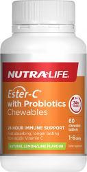 Nutra-Life Ester-C + Probiotics