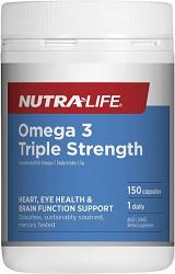 Nutra-Life Triple Strength Omega 3