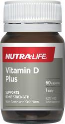 Nutra-Life Vitamin D3 1000 IU Plus