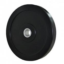 Black Olympic Bumper Plate