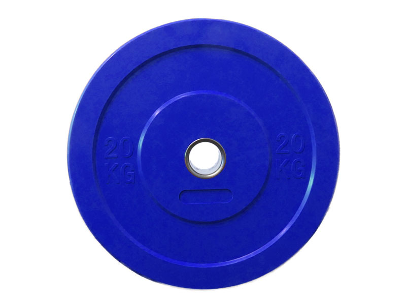 Coloured Olympic Bumper Plate