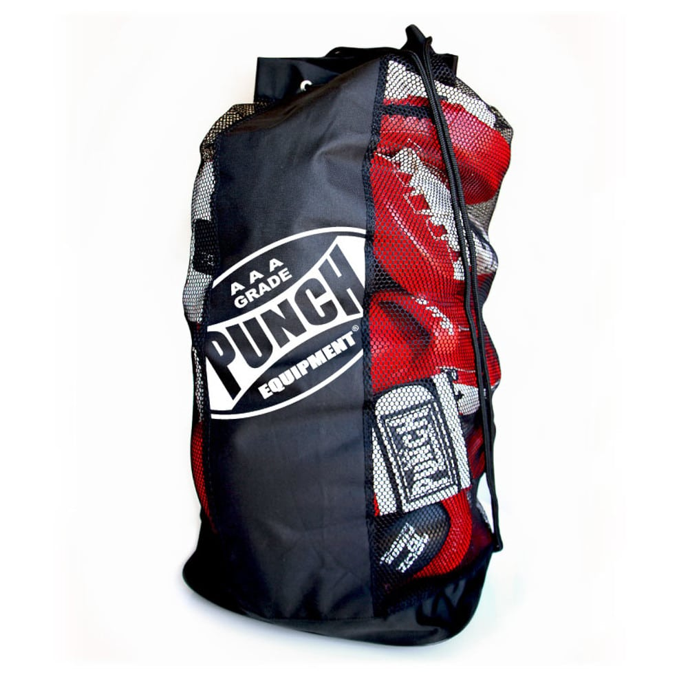 Punch Mesh Duffle Bag