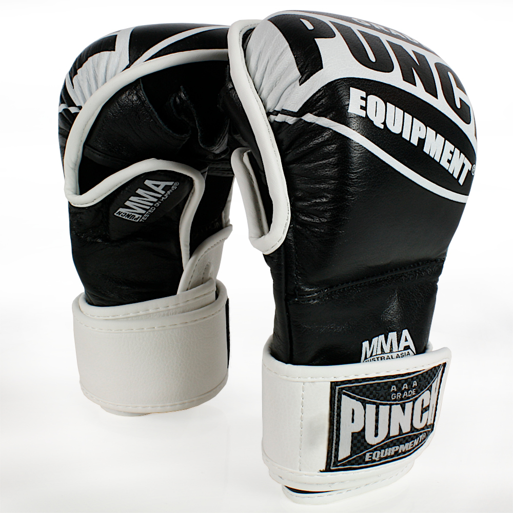Punch MMA Shooto Gloves Double Wrap