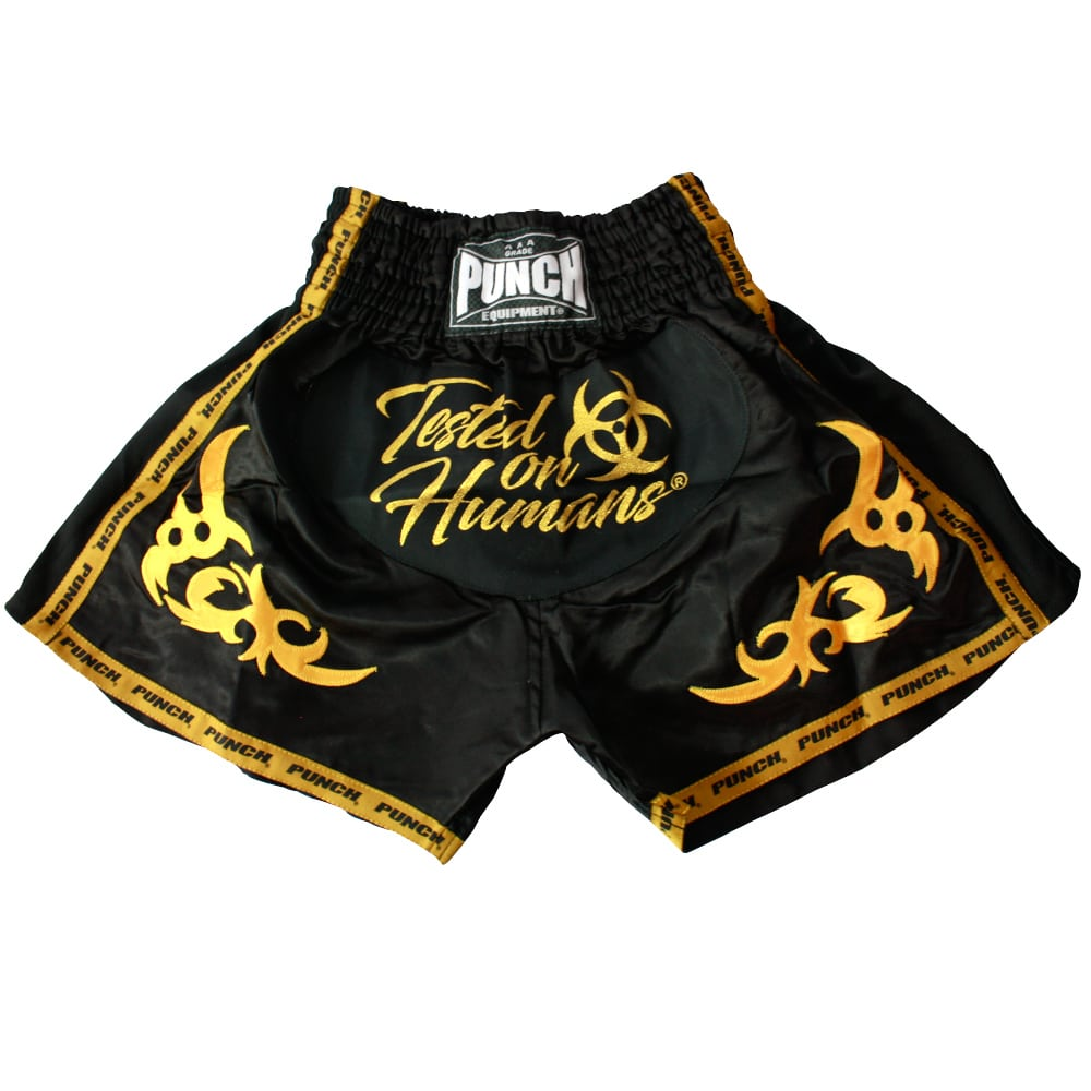 Punch Tested on Humans Thai Shorts