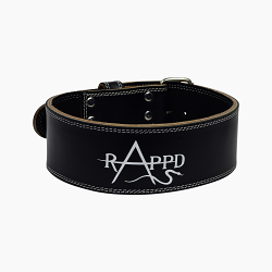 Rappd Leather Power Lifting Belt